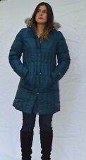 NEW Women's Eddie Bauer Lodge Down Parka Fill Power NWT Goose Nordic Green