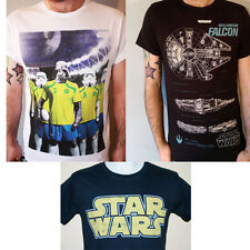 Official Star Wars t shirt Football Darth Vader Storm Trooper Brazil World Cup