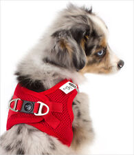 ♥ Small Toy Dogs Harness ♥ Comfy ♥ RED ♥ Yorkie Chihuahua Teacup Puppy Maltese
