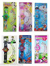 Projector Kids Wrist Watch Children Digital Watch With 24 Projection Best Gift
