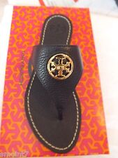 Tory Burch Selma Flat Thong Tory Navy NIB 100% Authentic Guaranteed!