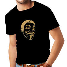 N4043 Funny t-shirt,fruit of the loom, humorous stamps,Like Hacker Anonymous