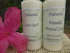 Homemade Hand Lotions (Purse Size) U Pick Scent Goats Milk, Coconut, Shea,Cocoa