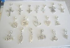 Christian-Religious Theme Dangle Charms for Floating Charm Lockets,Bracelets#105