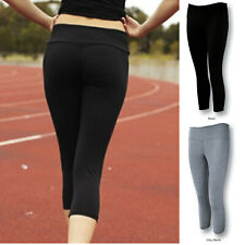 Ladies 3/4 Gym Tights | Exercise Workout Training Sports Casual Wear  - CK268