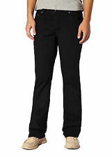 """Stitch's Men Straight Leg Jeans Demin Pants Trousers Relaxed Fit Black W 30-40"""""""