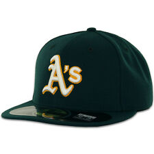 Oakland ATHLETICS A's ROAD Away New Era 59FIFTY Fitted Caps MLB AC On Field Hats