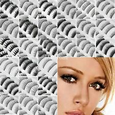 10 Pairs Makeup Handmade Natural Fashion Long False Eyelashes Eye Lashes Fashion