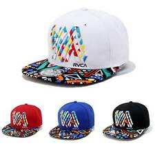 Men Women Snapback Baseball Cap Adjustable Hip-Hop Flat Outdoor Sport Summer Hat