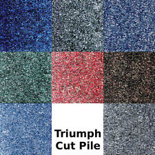 4m2 (16 Tiles) JHS TRIUMPH CUT PILE CONTRACT CARPET TILES 50cm x 50cm