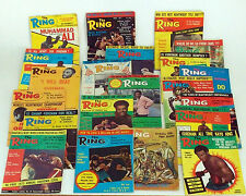 THE RING 1970s BOXING MAGAZINES - CHOOSE FROM MARCH 1973 TO APRIL 1977