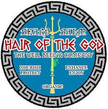"""HAIR OF THE GOD"" beard balm, by Wildstache. Made with organics. Free shipping!!"
