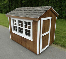Extra Large 6' x 4' Chicken Coop - Multi-Chicken Hardwood Coop- Amish Made USA