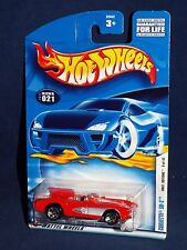 Hot Wheels 2002 First Editions #021 Corvette SR-2 Red w/ 5SPs