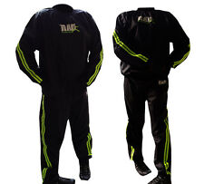 RAD™  Heavy Duty Sweat Suit Sauna Exercise Gym Suit Fitness Weight Loss Green
