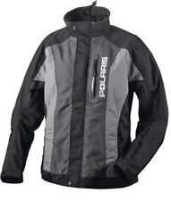 OEM Pure Polaris Women's Throttle Snowmobile Jacket - Black/Gray S M L XL