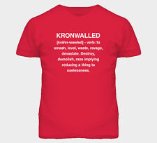 Kronwalled Niklas Kronwalled Definition Detroit Hockey Red Cool Wings T Shirt