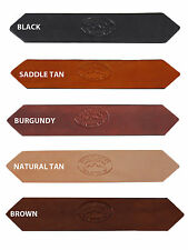 "New Barsony 1 1/2"" (1.5"") Heavy Duty Leather Belts for Sizes 39"" - 46"""