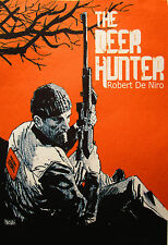 A3 SIZE -THE DEER HUNTER- ART PRINT  FILM  RETRO  MOVIE