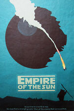 A3 SIZE-EMPIRE OF THE SUN STAR WARS- ART PRINT  FILM POSTER  RETRO  MOVIE