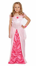 Girls Pink Sleeping Princess Fancy Dress Costume Ages 4-11 Years Available