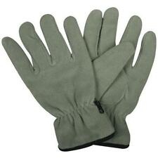Foliage Green Insulated GI Style Fleece Gloves - Fully Insulated For Comfort