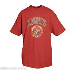 RED MARINES W/LOGO IMPRINTED TRIBAL 1 SIDED T-SHIRT - Short Sleeve Tee