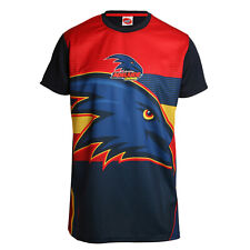 Adelaide Crows AFL Footy Mens Premium Polyester Training Tee