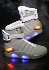 Back To The Future II LIGHT UP Shoes SNEAKERS Marty McFly Size 6-13