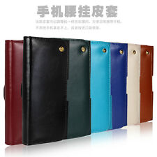 Magnetic Genuine Leather Pouch Belt Clip Case Holster For iphone 6/Plus + Gift