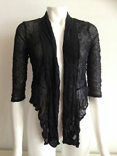 BNWT EVERSUN LADIES BLACK MESH BOLERO SHRUG CARDI TOP SIZE 10 12 14 16 18 20