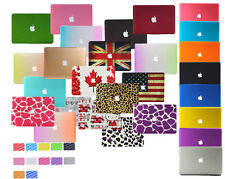"Rubberized Matte Hard Case +Keyboard Cover for Macbook Pro 13/15"" Air 11/13""inch"