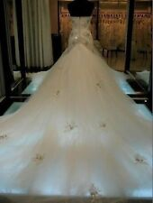 Hot white/ivory Wedding Dress Bride Gown custom-made Size 4-6-8-10-12-14-16-18++
