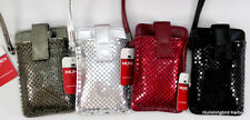 Mundi Skinny Mini Sequin Mesh Cell Phone Gadget Wallet Case NWT