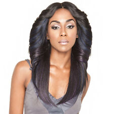 Isis Brown Sugar Human Hair Blend Silk Lace Wig - BS602 (4X4 Full Lace Front)