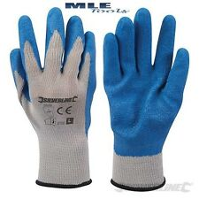 Silverline Latex Builders Gloves 1 2 5 10 25 construction hard wearing 427550