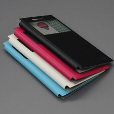 """Luxury Brand New Leather Case Stand Cover Skin For 5"""" THL T6S Smartphone"""