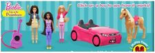 McDonald's 2015 - Barbie Life In The Dreamhouse- Chose your toy