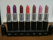 MAC Cosmetics AMPLIFIED CREME Lipstick Series/Finish Choose Your Shade BNIB