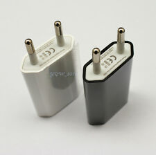 USB Power Adapter EU European Wall Home Charger Plug for Mobile phone Tablet