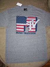 Licensed MTV Music Television America Logo T Shirt_ Brand new with tags