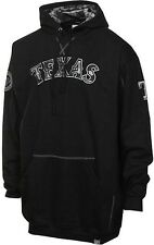 Texas Rangers Majestic Camouflage Mens Pullover Hoodie Black Big & Tall Sizes