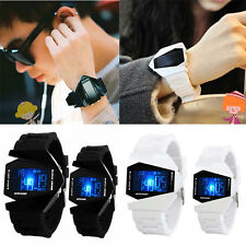 New  For  Men Boys Girls Watches LED Light Digital Sports Quartz Silicone Watche