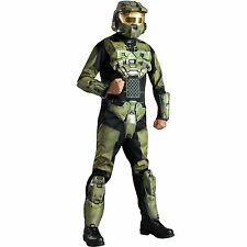 ADULT MENS HALO 3 DELUXE X-BOX GAME HALLOWEEN FANCY DRESS COSTUME - 2 SIZES