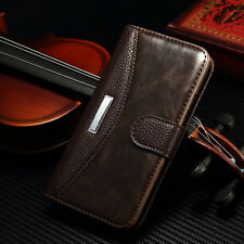 For Samsung Galaxy S5/S5 Neo Magnetic Leather Flip Wallet Stand Case Cover Pouch