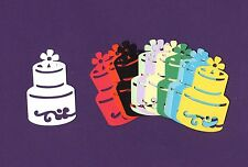 "Cake Die Cuts, 3"" tall - Layer Cake Die Cuts, Wedding Cake Die Cuts-Any Color(s)"