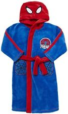 SPIDERMAN:GORGEOUS BLUE DRESSING GOWN/ROBE,4/5,5/6,7/8,9/10YR, NEW WITH TAGS