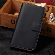 New Genuine Leather Flip Stand Wallet Case Cover For Samsung Galaxy S3/S3 Neo