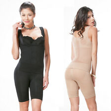 Women Full Body Shaper Two Pieces Underwear Slimming Suit Bodysuits Firm Control