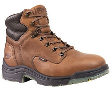 Mens Timberland PRO 26063 Titan 6-Inch Safety Toe Work Boot Brown (E,W)